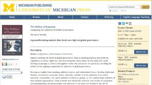 https://www.press.umich.edu/4016693/politics_of_expertise