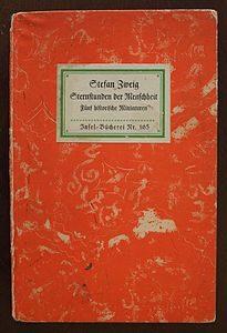 llibre Sternstunden der Menschehheit