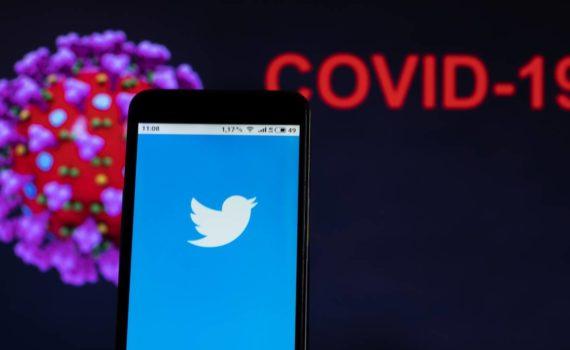Mòbil, twitter i Coronavirus